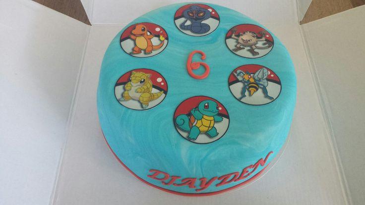 Pokemon taart.