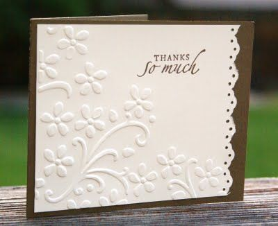 Love how easy and elegant this card is