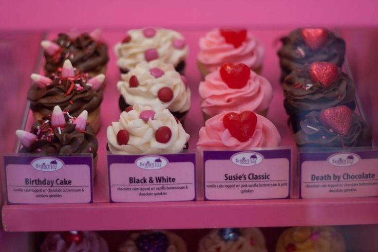 A collection of cupcakes from Susie's Shortbreads? Yes please! #Halifax #ValentinesDay #Valentine #gift
