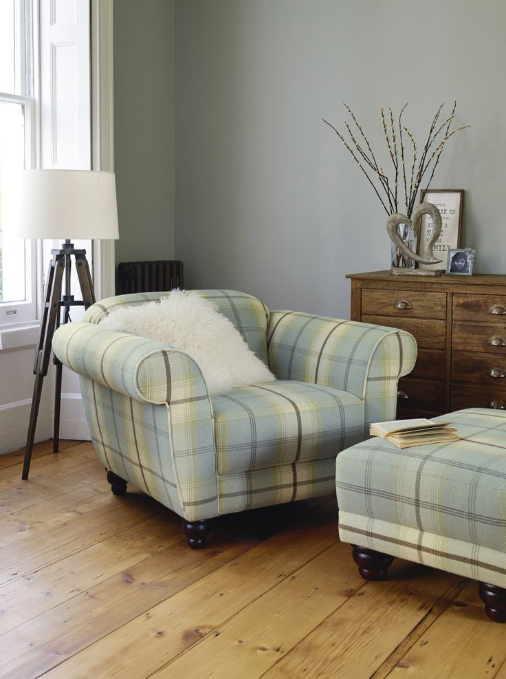 Love the #check trend? This sofa is simply gorgeous. With a simple colour on the walls and accessories this sofa will look amazing in any lounge. Love it? It's coming soon... #Home #SS14