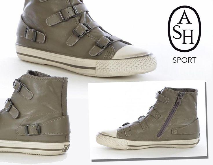 Il modo migliore per esaltare i tuoi skinny jeans? Indossarli con le High Top #Sneakers a 5 fibbie firmate #ASHSport. Sportive, ultracomode e di tendenza. Le trovi su http://bit.ly/1Ekq4tM #scarpe #nuovacollezione #modaperlei