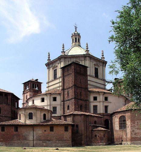 Milan Italy,  San Lorenzo Maggiore