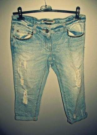 Kup mój przedmiot na #vintedpl http://www.vinted.pl/damska-odziez/rurki/10323702-jasne-jeansy-rurki-z-przetarciami-river-island-rozmiar-36