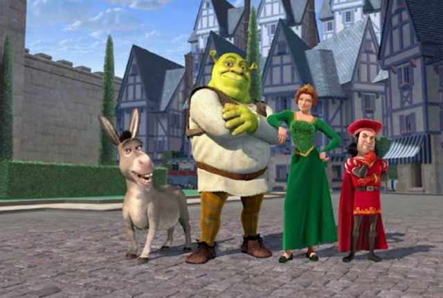 When Chris Farley, the original voice of Shrek, died in 1997 after recording most of his lines, the studio had to scramble to find a replacement.  15 Giant Facts About 'Shrek' | Mental Floss