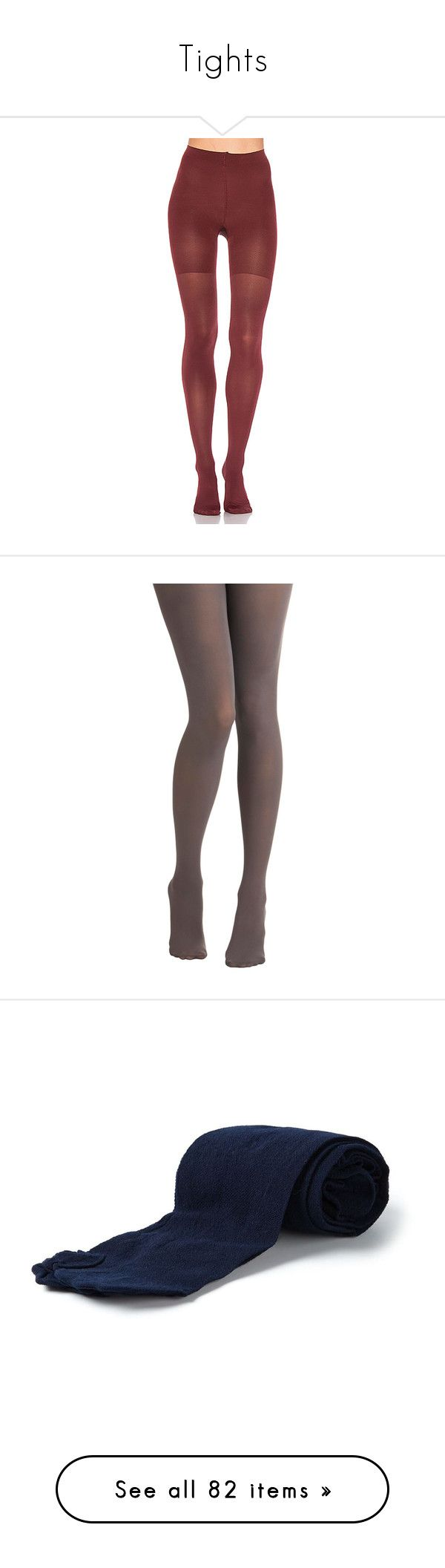 """""""Tights"""" by kingdomofborduria ❤ liked on Polyvore featuring intimates, hosiery, tights, socks/tights, nylon stockings, nylon hosiery, spanx tights, opaque pantyhose, opaque tights and accessories"""