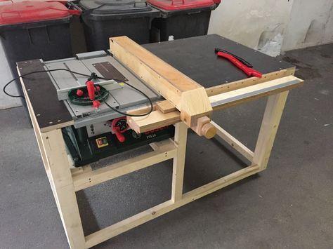 kreiss getisch f r bosch pts 10 bauanleitung zum selber bauen diy homemade pinterest woodwork. Black Bedroom Furniture Sets. Home Design Ideas