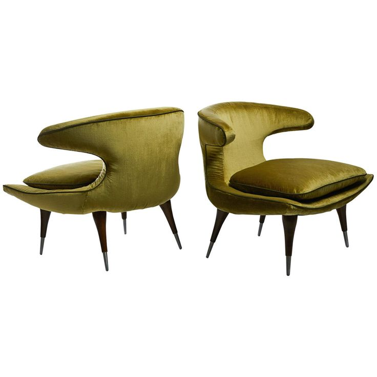 Karpen Of California Horn Armchairs