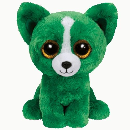New TY Beanie Boos Boo s Dill Green Dog 6 MINT READY TO SHIP small