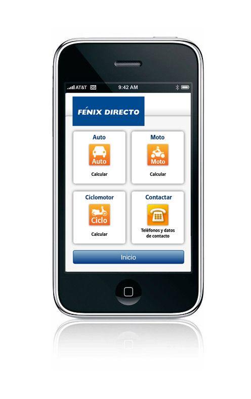 Fénix Directo App - Portal móvil