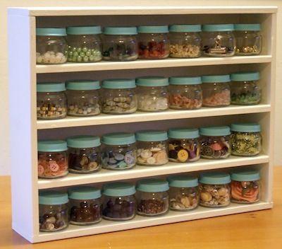 baby food jar organizing