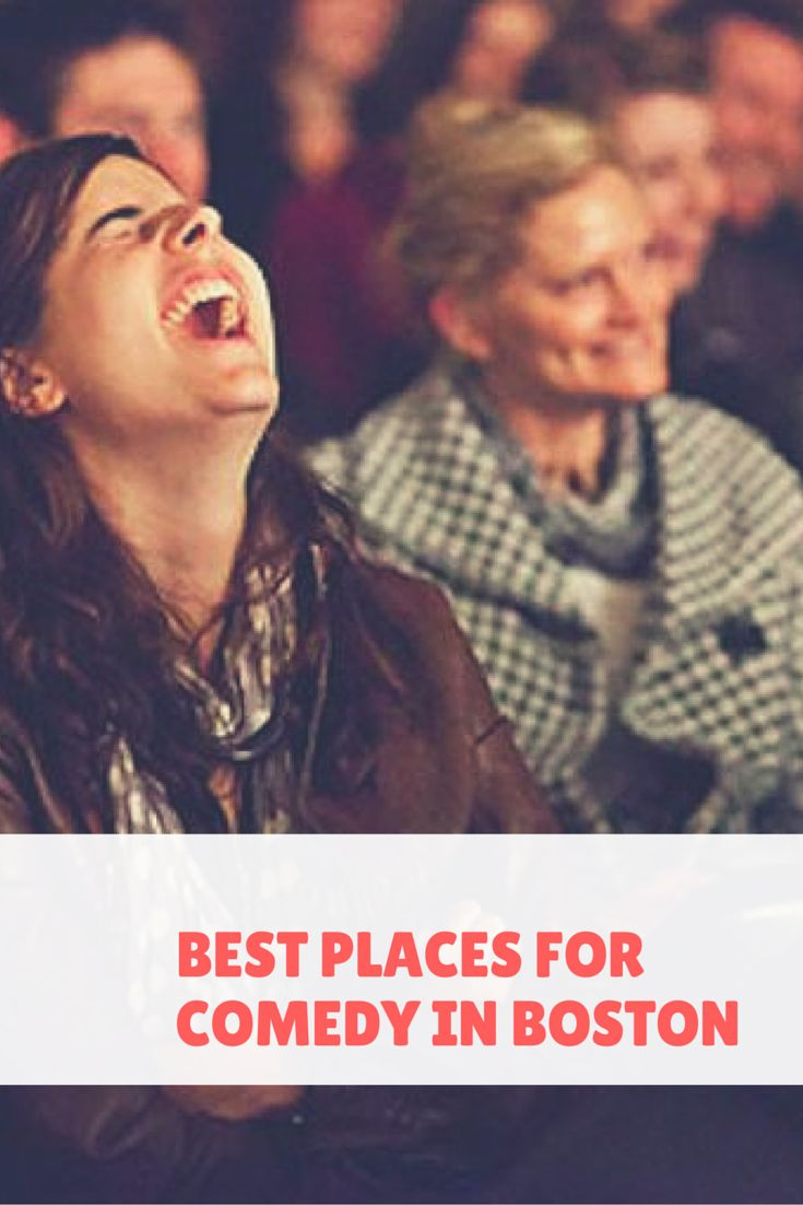 """f you're looking for a distraction from your crazy work week or a fun, family-friendly Friday night, comedy is the route to take. Boston offers a large variety of """"laugh-out-loud-funny"""" establishments! #comedy #Boston"""