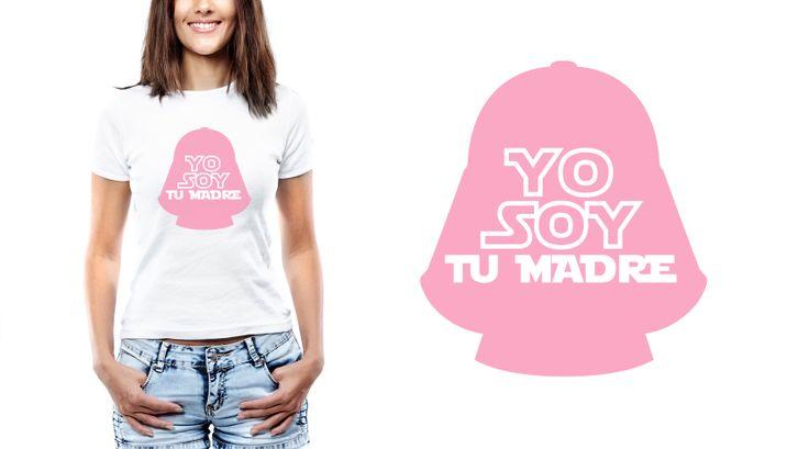 Mamis frikis al poder. Y que se note: pueden lucir su orgullo con esta camiseta. #camiseta