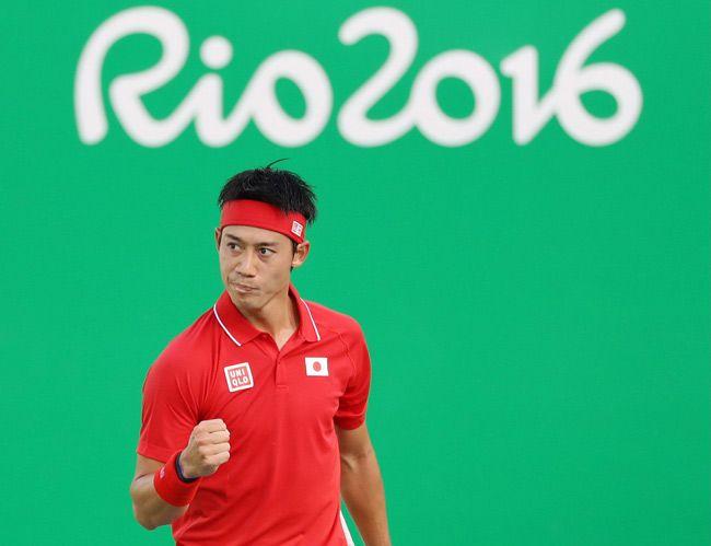 リオデジャネイロ五輪・テニス男子シングルス準…:男子テニス 錦織圭 写真特集:時事ドットコム