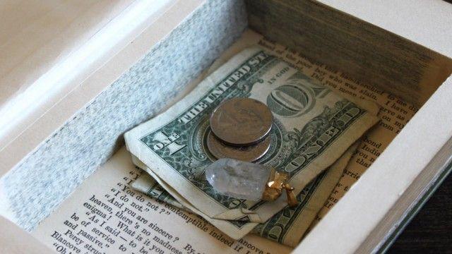 Как спрятать деньги в собственном доме 0