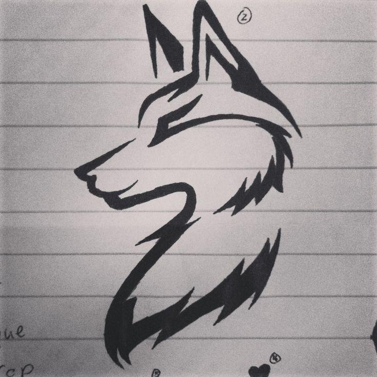 Тату нарисованные ручкой картинки