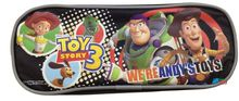 Toy Story Plastic Pencil Case Pencil Box - Black - Were Andys Toys
