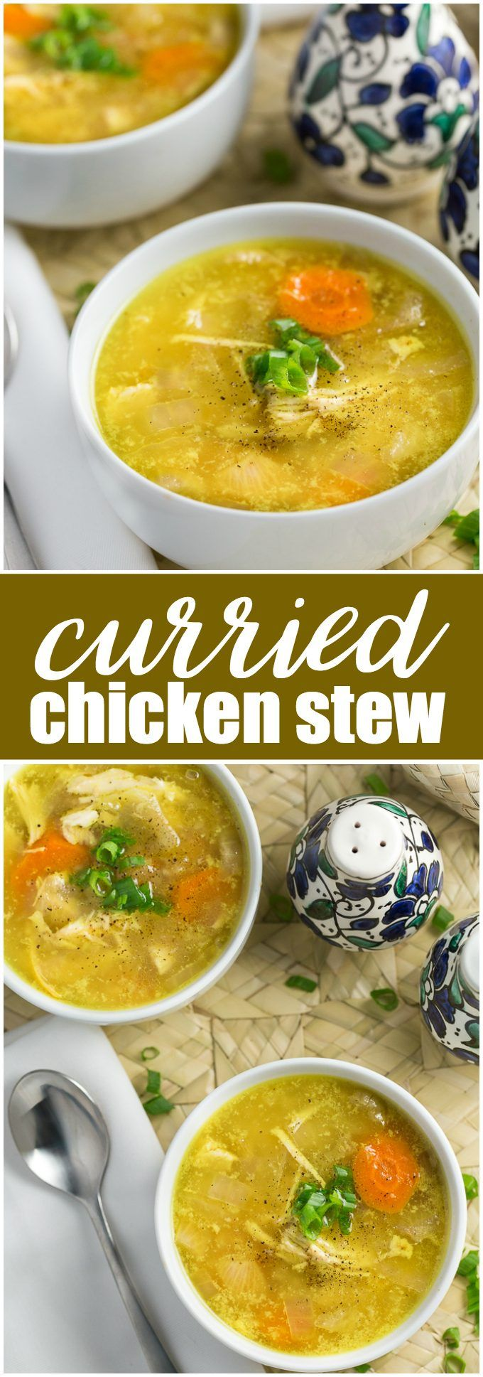 Curried Chicken Stew - delicious and low carb!