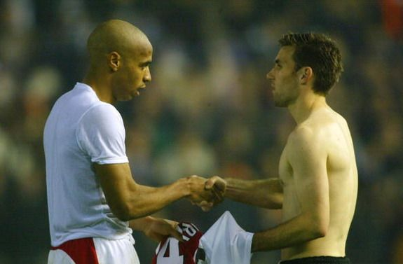 'Arsenal wanted to charge Thierry Henry for having loads of shirt swaps'