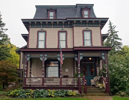 The Dr Orange Pomeroy House A Painted Lady Victorian Is One Of Five