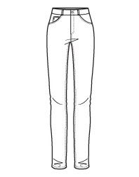 9 best images about Jeans and Trousers Line Drawings on Pinterest | Drawings Fashion drawings ...
