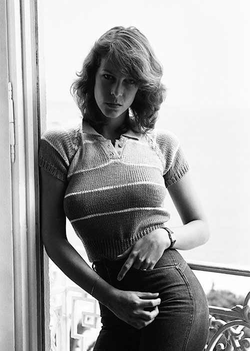 Jamie Lee Curtis.;; Admittedly, probably the sexiest women of her time, and remember, her time is still going on and she is just as sexy today. Auth'd by Kip Vidrine