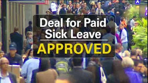 Paid Sick Leave Deal Made