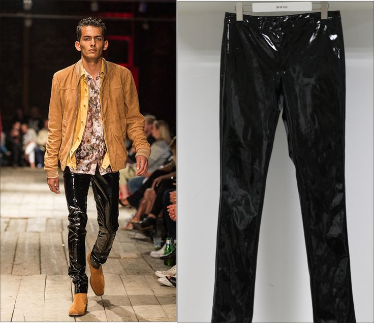 Suede Pants For Men From Customer's Fashion Show