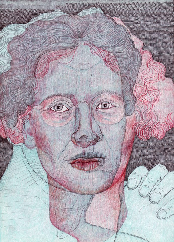 """Persona.Simone"" - cover of Krystian Lupa's book - ""PERSONA"""