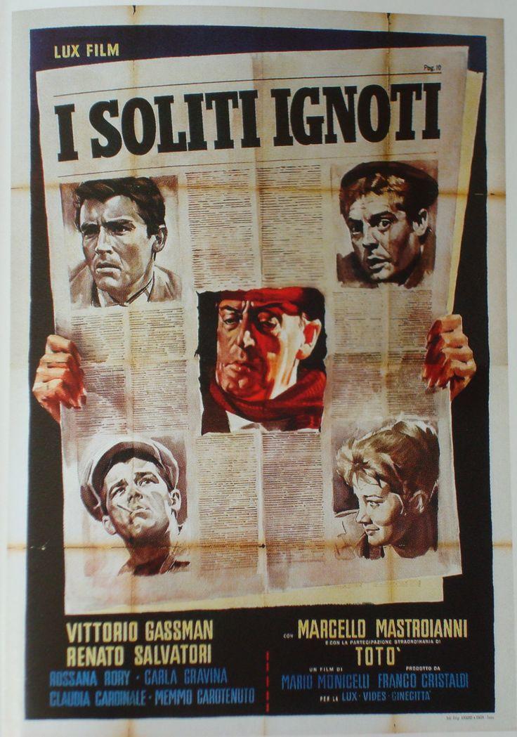 I soliti ignoti - 1958 - Uno dei #film più celebri del cinema italiano