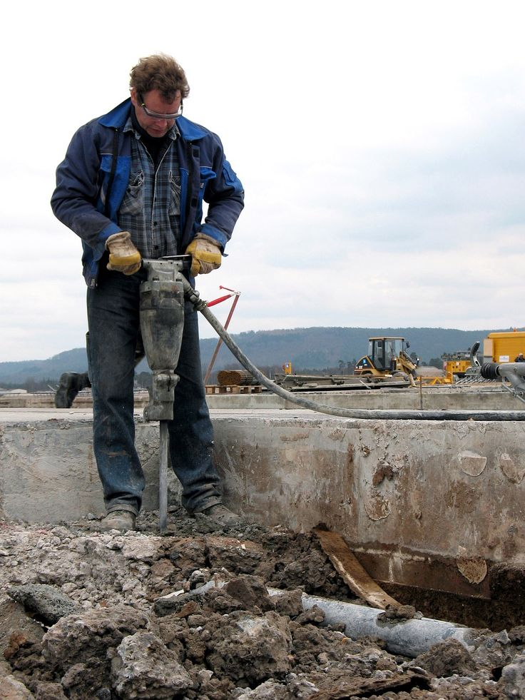 How To Use A Jackhammer & Demolition Hammer: Operation Technique & Safety Tips