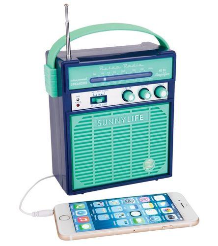 SunnyLife Retro Sounds Speaker at SwimOutlet.com – The Web's most popular swim shop
