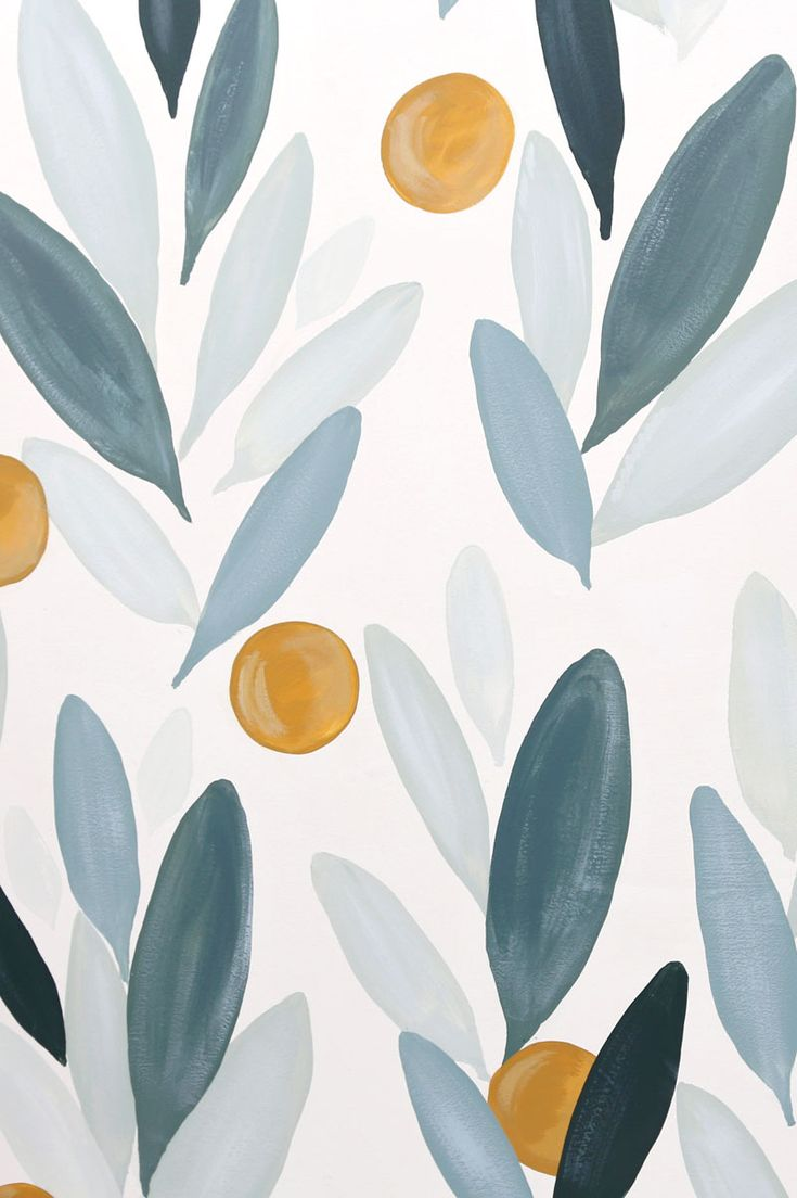 How to paint your own wallpaper mural, a step by step tutorial featured by top life and style blog, Fynes Designs
