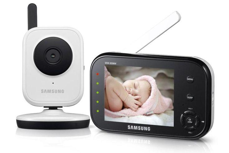 Le Babyphone Vidéo Samsung SEW-3036 est un modèle pratique, facile d'utilisation et doté de fonctionnalités très utiles. Découvrez-le sans plus attendre !