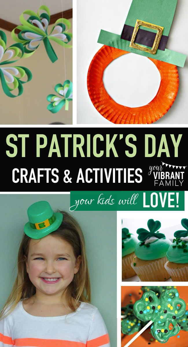 32 Easy St Patrick Day Activities, Recipes, Books & Crafts Kids Can Make