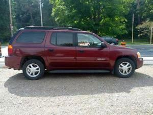 """""""The State Highway Patrol is seeking a burgundy Chevrolet SUV, similar to this one, or a GMC Envoy in conneciton with a Feb. 3, 2015, crash on Interstate 40....GARNER, N.C. — The State Highway Patrol asked for the public's help Tuesday to locate an SUV believed to have caused a three-car crash that killed one man and closed westbound Interstate 40 in Garner."""""""