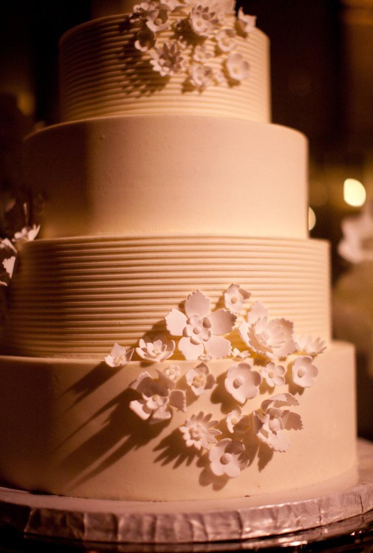 Positively dazzling cake! from Vanilla Bake Shop via http://StyleMePretty.com/2012/04/16/los-angeles-wedding-by-samuel-lippke-studios-beth-helmstetter-events/ Photography by samuellippke.com