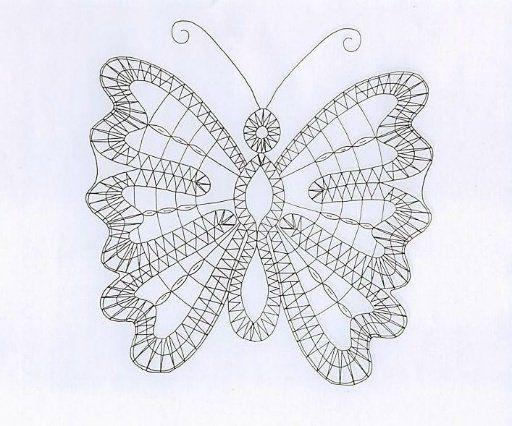 image papillon carton dentelle fuseaux dentelle aux fuseaux pinterest. Black Bedroom Furniture Sets. Home Design Ideas