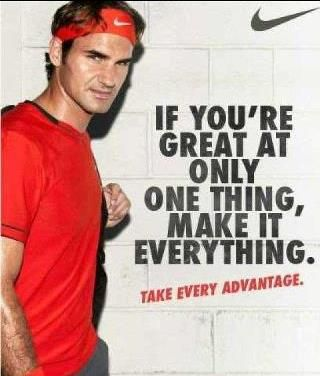 roger federer quote   Roger Federer