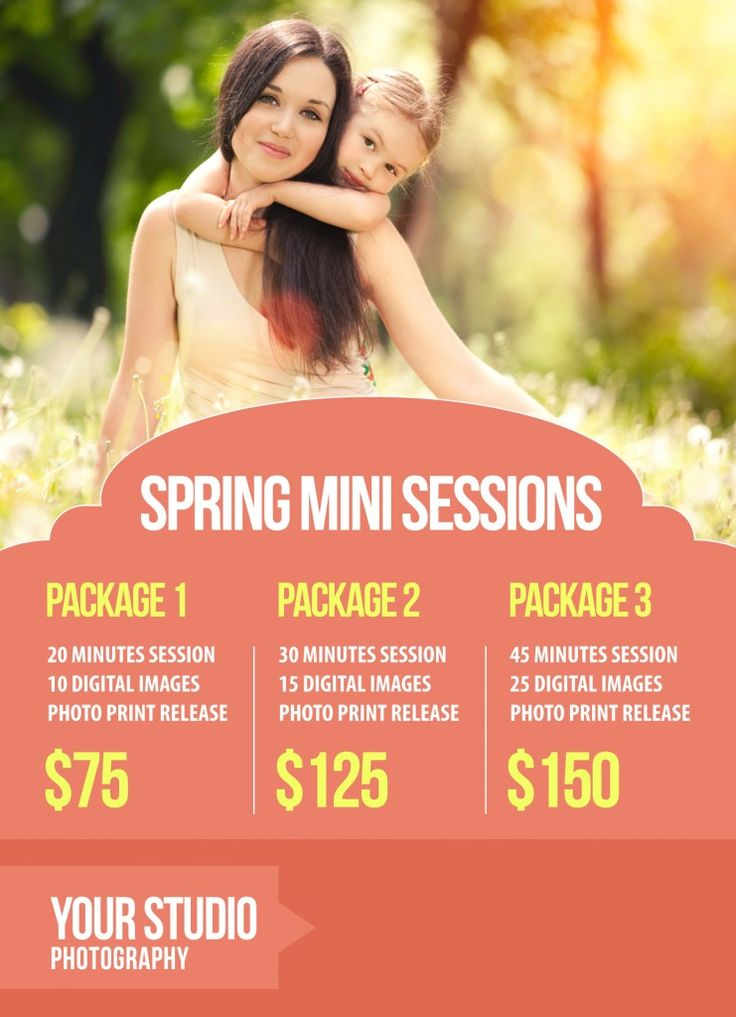 Free Spring Mini Session Marketing Template   Online Photography | Forum | Workshops | Tips | Tutorials | Classes | Business | Courses | School | RockTheShotForum.com