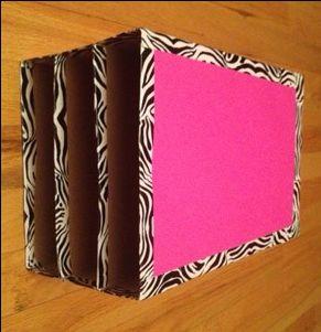 Cereal box organizer. need to make for Preston's craft organization