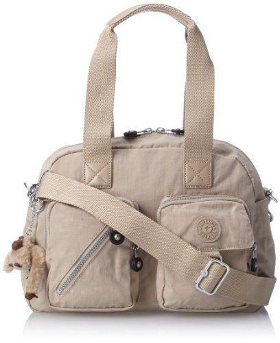 Women's Shoulder Bags - Kipling Defea Medium Handbag Caf Latte * More info could be found at the image url.