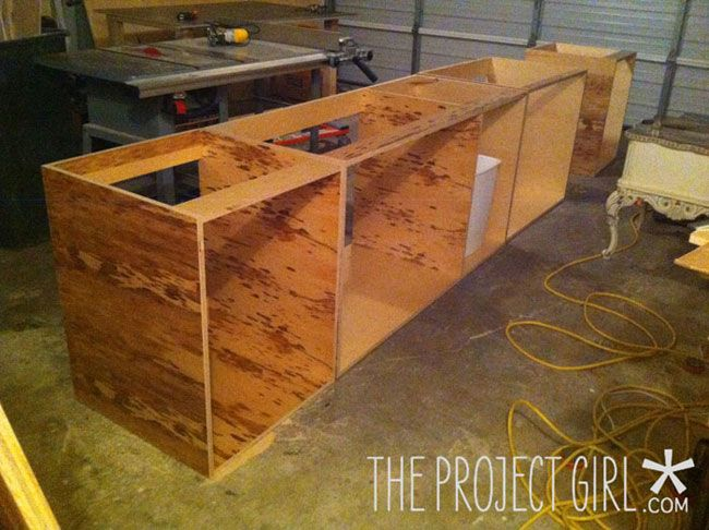 How to build kitchen cabinets: Getting Started | Jenallyson - The Project Girl - Fun Easy Craft Projects including Home Improvement and Decorating - For Women and Moms