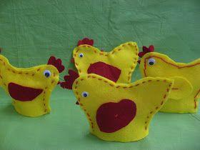 Nämä pääsiäistiput voivat kätkeä sisäänsä suklaamunan tai toimia keitetyn kananmunan lämmittäjinä.