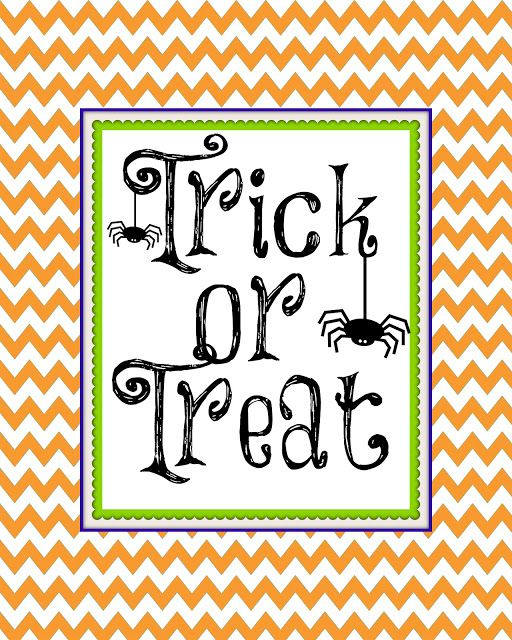 Second Chance to Dream: Free Halloween Printable