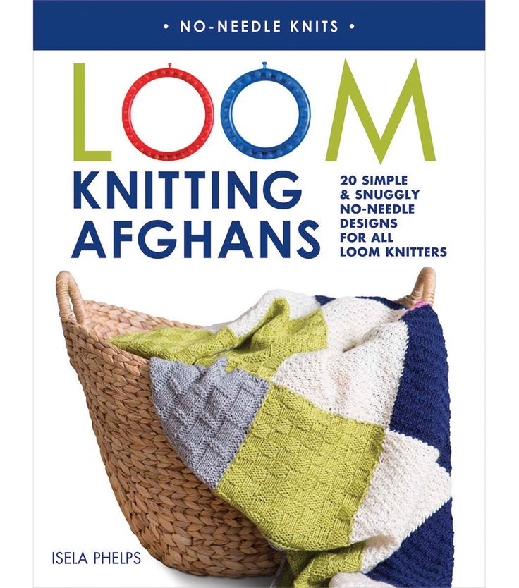 Macmillan Publishers-St. Martins Books: Loom Knitting Afghans. Loom knitting is…
