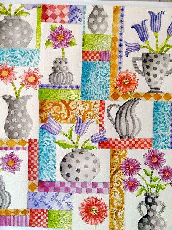 "BLACK FRIEDAY Fabric SALE:  Five dollars a yard.""Susannah"" designed by Christine Graf"