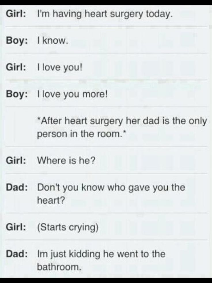 Oh my god...this is the cruelest joke I have ever heard. What a sick dad...