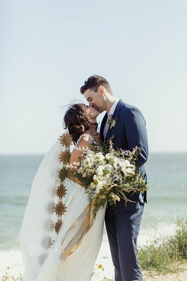 ea9c663c04c A Malibu Wedding with Blue Glass + Marble Details