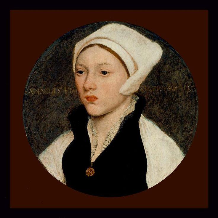 Πορτρέτο νεαρής με λευκό κάλυμμα (1541) Μινιατούρα