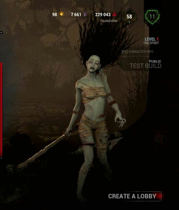 Dead By Daylight The Spirit